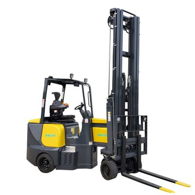 2500kg 12.4m articulated forklift trucks