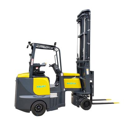 Ce approved 2.5t electric articulating forklifts