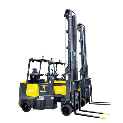 Electric narrow aisle forklift trucks