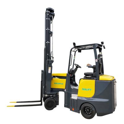 Nalift 2.5t electric narrow aisle stacker forklift